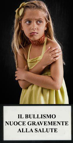 slogan bullismo - il bullismo nuoce gravemente alla salute