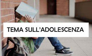 tema sull adolescenza