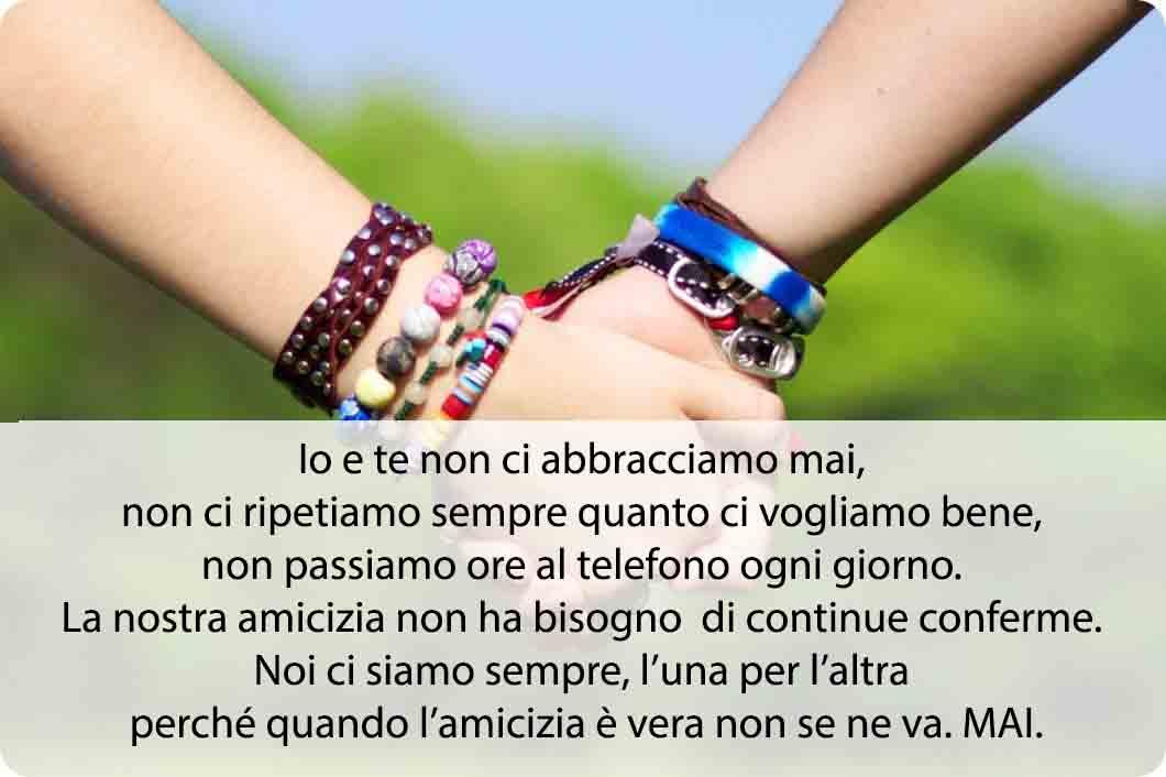 Famoso Frasi sull'Amicizia - Citazioni e Aforismi Amicizia | No Bullismo Blog BE05