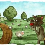 Il lupo e il pastore - Favola breve