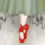 Le scarpe rosse - Favola