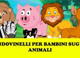 Indovinelli sugli animali per bambini