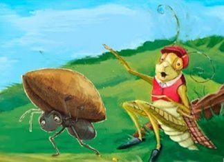 La cicala e la formica - Storia per bambini con morale