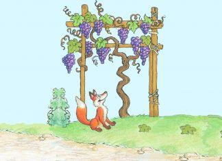 La volpe e l'uva Favola Esopo con morale